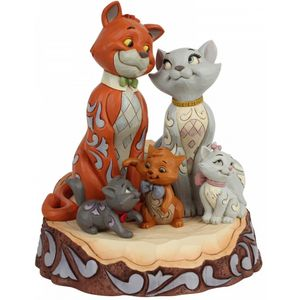 Disney Traditions Carved by Heart Figurine - Aristocrats