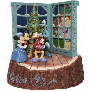 Disney Traditions Carved by Heart Figurine - Mickeys Christmas Carol