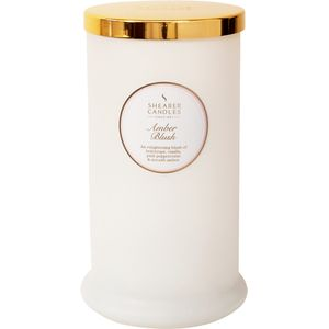 Shearer Candles Pillar Jar Candle - Amber Blush
