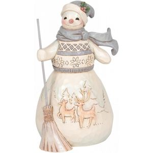 Heartwood Creek Snowman Figurine - Winter Days are Joyful Days