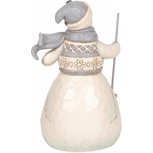 Heartwood Creek Winter Days are Joyful Days Snowman Figurine
