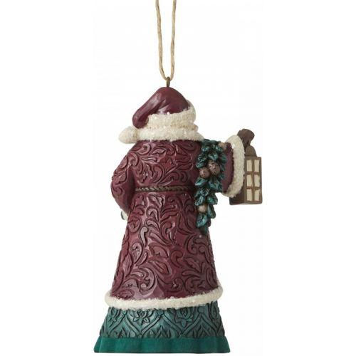 Heartwood Creek Hanging Ornament - Santa with Lantern 6006601