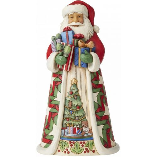 Heartwood Creek Santa Figurine - Blessed is the Giver