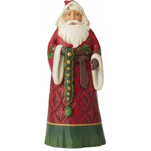 Heartwood Creek Santa Figurine - Let Goodwill Ring
