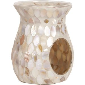 Aroma Wax Melt Burner: Mother of Pearl