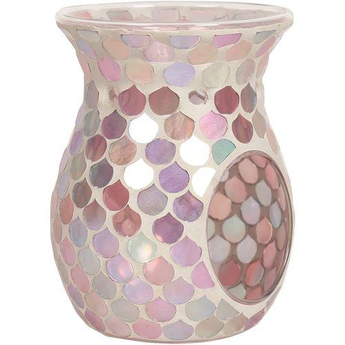 Aroma Wax Melt Burner: Pink Droplet