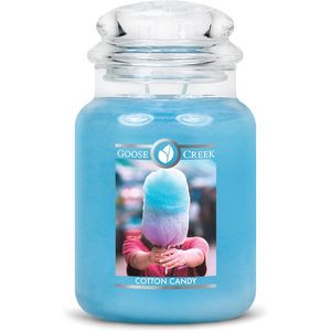 Goose Creek Large Jar Candle - Cotton Candy