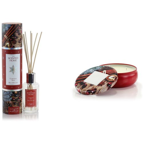 Ashleigh & Burwood The Scented Home Reed Diffuser & Candle Set - Christmas Spice
