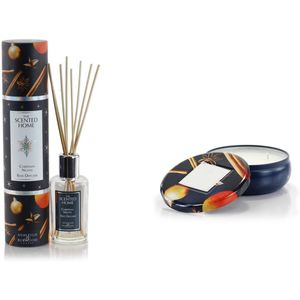 Ashleigh & Burwood The Scented Home Reed Diffuser & Candle Set - Christmas Night