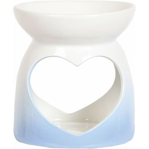 Aroma Wax Melt Burner: Blue Heart
