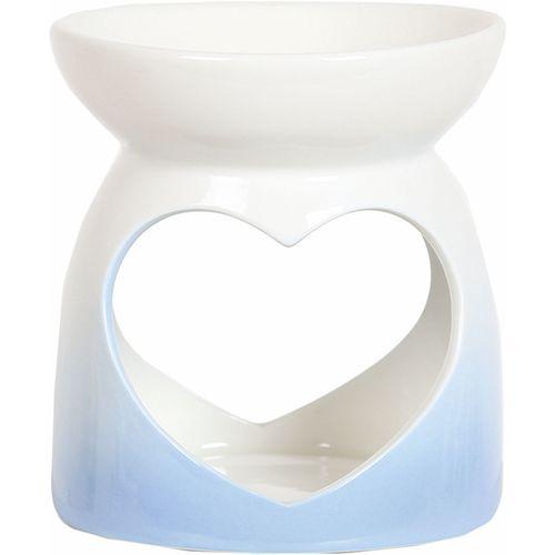 Aroma Wax Melt Warmer - Blue Heart AR1474