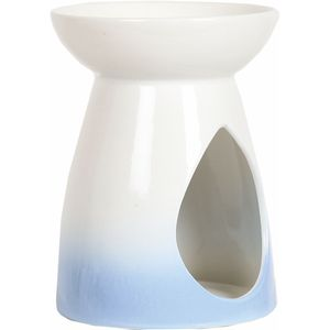 Aroma Wax Melt Burner: Blue Teardrop