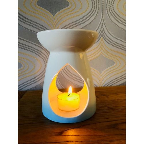 Aroma Blue Teardrop Wax Melt Warmer AR1475