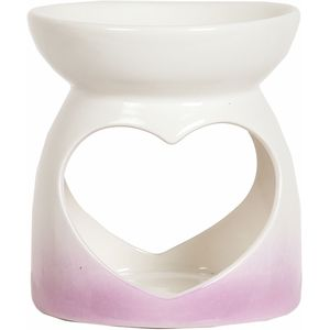 Aroma Wax Melt Burner: Pink Heart