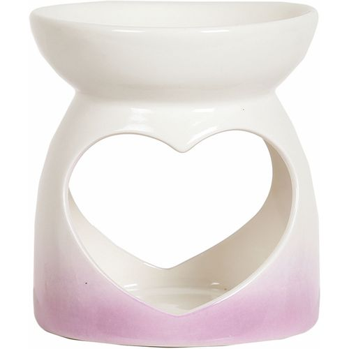 Aroma Wax Melt Warmer -  Pink Heart AR1476
