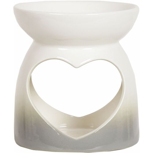 Aroma Wax Melt Warmer - Grey Heart AR1480