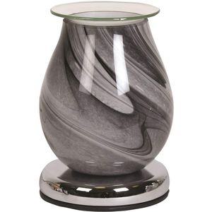 Aroma Touch Electric Wax Melt Burner: Grey Swirl