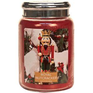 Village Candle Large Jar 26oz - Royal Nutcracker
