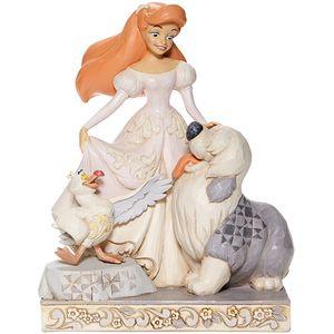 Disney Traditions White Woodland Figurine - Spirited Siren (Ariel)