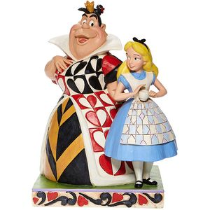 Disney Traditions Chaos & Curiosity (Alice & the Queen of Hearts) Figurine