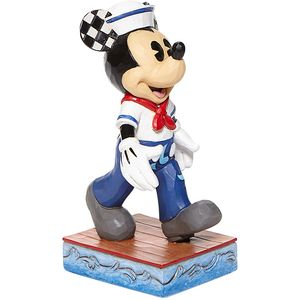 Disney Traditions Snazzy Sailor Mickey Mouse Figurine