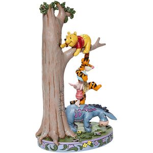 Disney Traditions Hundred Acre Caper Winnie the Pooh & Friends Figurine