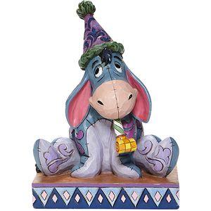 Disney Traditions Birthday Blues Eeyore Figurine
