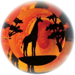 Caithness Glass Paperweight: On Safari - Giraffe