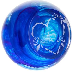 Caithness Glass Paperweight: Celebration - 45