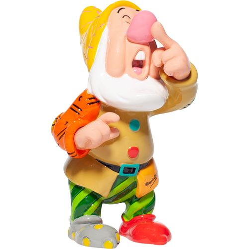 Disney Britto Seven Dwarf Mini Figurine - Sneezy 6007105