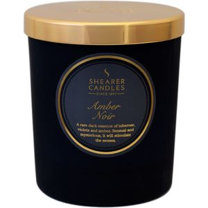 Amber Noir Scented Jar Candle