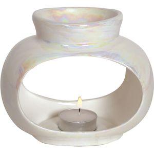 Aroma Wax Melt Burner: Lustre Oval Single