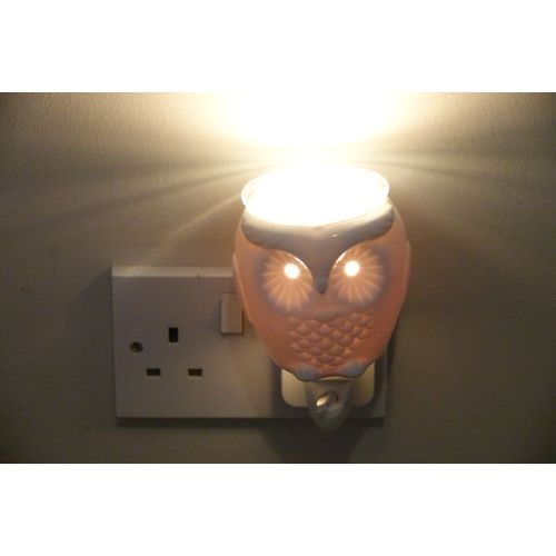 Aroma Wax Melt Burner Plug In - Ceramic Owl AR1568