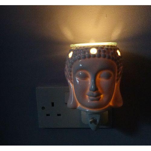 Aroma Wax Melt Burner Plug In - Ceramic Buddha AR1569