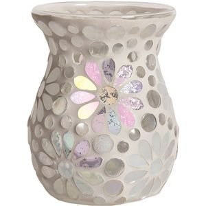 Aroma Wax Melt Burner: Pearl Floral