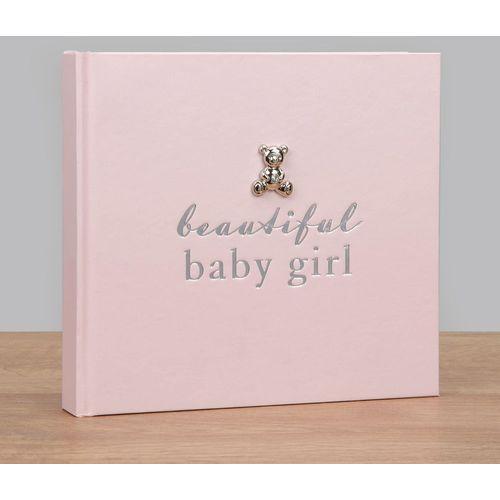 "Juliana Bambino Photo Album Holds 50 4"" x 6"" Prints - Beautiful Baby Girl"