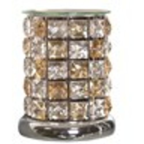 Aroma Touch Electric Wax Melt Burner - Amber Crystal Check AR1505