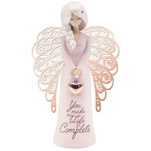 You are an Angel Figurine - You make my Life Complete