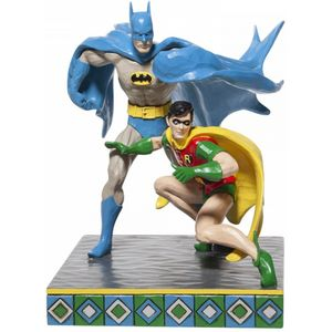 Dc Comics Batman & Robin Figurine by Jim Shore