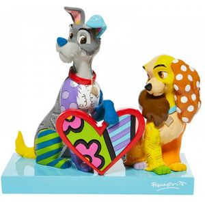 Disney Britto Lady & The Tramp Figurine