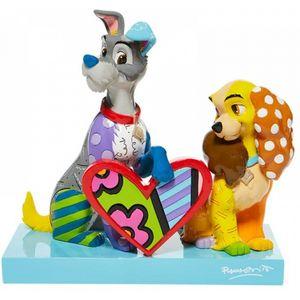 Disney Britto Lady & The Tramp Limited Edition Figurine