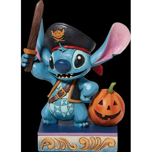 Disney Traditions Loveable Buccaneer (Stitch as a Pirate) Figurine 6008987