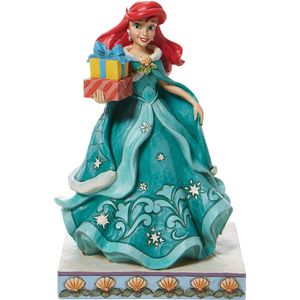 Disney Traditions Gifts of Song (Ariel with Christmas Gifts) Figurine