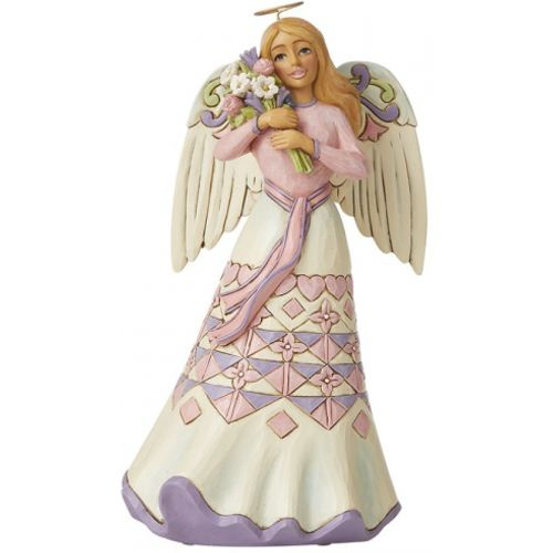Heartwood Creek A Bouquet of Love for Mum - Mothers Day Angel with Flowers  6008794
