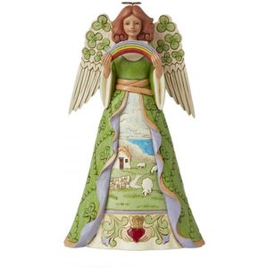 Heartwood Creek Irish Angel Figurine - Blessing be upon Ye