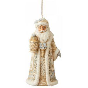 Heartwood Creek Hanging Ornament - Holiday Lustre Santa