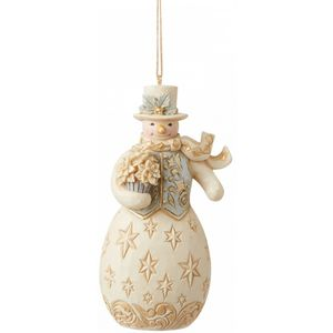Heartwood Creek Hanging Ornament - Holiday Lustre Snowman