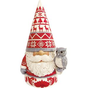Heartwood Creek Nordic Noel Gnome Statue Figurine