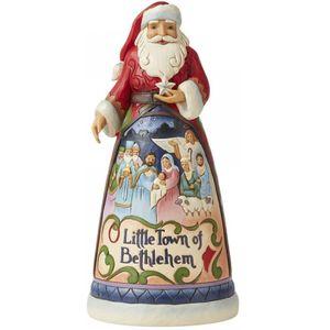 Heartwood Creek Santa Figurine - O Little Town of Bethlehem (15th Annual)
