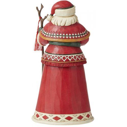 Heartwood Creek Santa Figurine - Lapland Santa 14th Annual 6008874